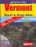 Vermont Street and Road Atlas, Arrow Maps, 1557513147