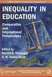 Inequality in Education : Comparative and International Perspectives, Holsinger, Donald B., 9628093142