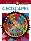 Creative Haven Geoscapes Coloring Book, Hop David and Creative Haven Staff, 0486493148
