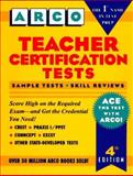 Teacher Certification Tests, Elna M. Dimock, 0028613147