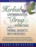 Herbal Contraindications and Drug Interactions, Francis Brinker, 1888483148