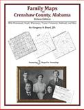 Family Maps of Crenshaw County, Alabama, Deluxe Edition : With Homesteads, Roads, Waterways, Towns, Cemeteries, Railroads, and More, Boyd, Gregory A., 1420313150