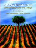Along These Lines : Writing Paragraphs and Essays (with MyWritingLab Student Access Code Card), Biays, John and Wershoven, Carol, 0205723152