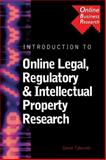 Introduction to Online Legal, Regulatory and Intellectual Property Research, Tyburski, Genie and Group, Benjamin, 0324203152