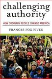 Challenging Authority, Frances Piven, 0742563162