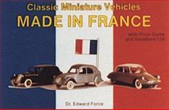 Classic Miniature Vehicles, Edward Force, 0887403166