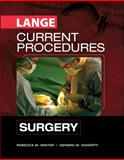 Current Procedures Surgery, Doherty, Gerard and Minter, Rebecca, 0071453164