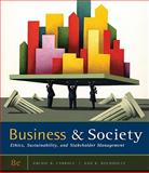 Business and Society : Ethics, Sustainability, and Stakeholder Management, Carroll, Archie B. and Buchholtz, Ann K., 0538453168