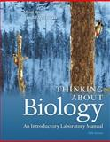 Thinking about Biology : An Introductory Laboratory Manual, Bres, Mimi and Weisshaar, Arnold, 0134033167