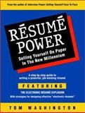 Resume Power, Tom Washington, 0931213169