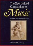The New Oxford Companion to Music, , 0193113163