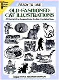 Ready-to-Use Old-Fashioned Cat Illustrations, Carol Belanger Grafton, 0486273172