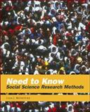Need to Know : Social Science Research Methods, McIntyre, Lisa J., 0767413172