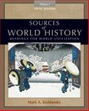 Sources of World History, Volume I 9780495913177