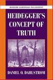 Heidegger's Concept of Truth, Dahlstrom, Daniel O., 0521643171