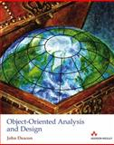 Object-Oriented Analysis and Design, John Deacon, 0321263170