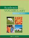 Academic Vocabulary 9780205633180