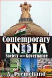 Contemporary India : Society and Its Governance, Premchand, A., 1412813182