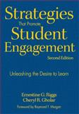 Strategies That Promote Student Engagement : Unleashing the Desire to Learn, Gholar, Cheryl R. and Riggs, Ernestine G., 1412963184