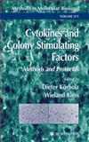 Cytokines and Colony Stimulating Factors : Methods and Protocols, , 1617373184