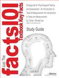 Studyguide for Psychological Testing and Assessment - an Introduction to Tests and Measurement: an Introduction to Tests and Measurement by Ronald Jay Cohen, ISBN 9780078035302, Cram101 Incorporated, 1490243186