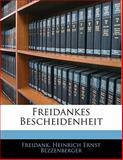 Freidankes Bescheidenheit, Freidank and Heinrich Ernst Bezzenberger, 1142413187