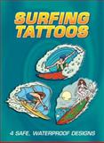 Surfing Tattoos, Eric Gottesman, 0486433188