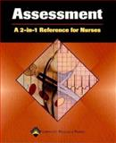The Assessment, Springhouse Publishing Company Staff, 158255319X