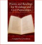 Poems and Readings for Weddings and Civil Partnerships, A. Vasudevan, 1847733190