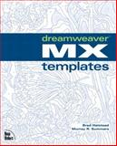 Dreamweaver MX Templates, Halstead, Brad and Summers, Murray, 0735713197