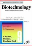 Biotechnology, Enzymes, Biomass, Food and Feed, Rehm, H. J., 3527283196