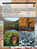 Evaluation of the Sensitivity of Inventory and Monitoring National Parks to Acidification Effects from Atmospheric Sulfur and Nitrogen Deposition, T. J. Sullivan and T. C. McDonnell, 1493703196