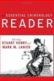 Essential Criminology Reader