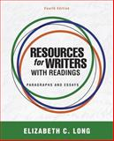 Resources for Writers with Readings, Long, Elizabeth Cloninger, 0205043208