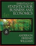 Essentials of Statistics for Business and Economics 9780324223200