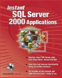 Instant SQL Server 2000 Applications, Buczek, Greg, 0072133201