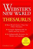 Webster's New World Thesaurus, Charlton G. Laird, 0028613201