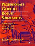 Professional's Guide to Robust Spreadsheets, Richardson, Ronny and Manning Publications Staff, 013262320X