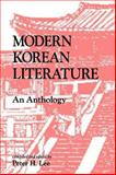 Modern Korean Literature : An Anthology, , 0824813219