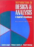 Introduction to Design and Analysis : A Student's Handbook, Keppel, Geoffrey and Saufley, William H., 0716723212