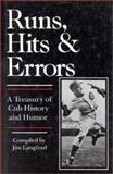 Runs, Hits and Errors, Jim Langford, 0912083220