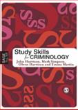 Study Skills for Criminology, Simpson, Mark and Harrison, John, 141290322X