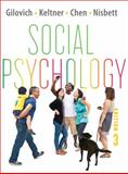 Social Psychology, Gilovich, Tom and Keltner, Dacher, 0393913236