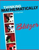 Thinking Mathematically Plus NEW MyMathLab with Pearson EText -- Access Card Package, Blitzer, Robert F., 0321923235