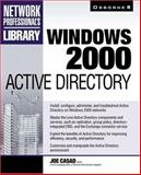 Windows 2000 Active Directory, Casad, Joe, 0072123230