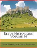 Revue Historique, Odile Krakovitch and Pierre Renouvin, 1146663234