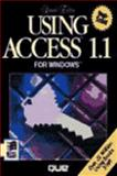 Using Access 1.X for Windows, Jennings, Roger, 1565293231