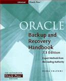 Oracle Backup and Recovery Handbook : 7.3 Edition, Velpuri, Rama, 0078823234