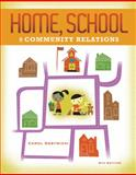 Home, School, and Community Relations, Gestwicki, Carol, 1111833230