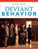 Deviant Behavior, Thio, Alex, 0205693237